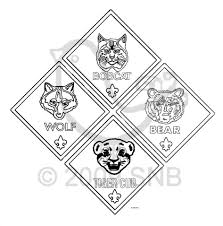 Small Picture Download Coloring Pages Tiger Cub Scouts Coloring Pages Cub