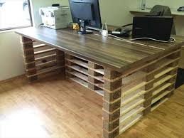 diy office table. pallet office table and desk diy n