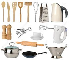 kitchen utensil:  kitchen utensils   kitchen utensils isolated on white background stock photo cooking