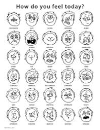 Emotions Chart For Adults Pdf Emotions And Feelings Charts