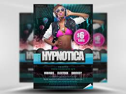 club flyer templates club flyer templates free download hypnotica free psd party club
