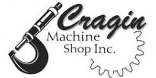 machine shop logo. cragin machine shop logo a