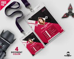 Template Psddaddy Photo Identity com Card download Psd