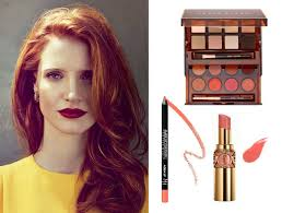 after the advice on how to dress and what colors to use today we talk about how to wear makeup if you have red hair either natural or d it s the same
