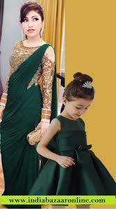 Designer Dresses For Mother And Daughter Designer Matching Dress For Mom And Cute Baby Bp2452