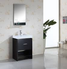 24 Inch Sink Cabinet 24 Inch Bea Vanity Space Saving Vanity Contemporary Sink Cabinet