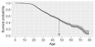 What Is Median Survival Age