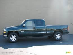 2002 Forest Green Metallic Chevrolet Silverado 1500 LS Extended ...