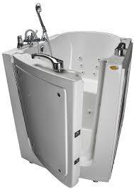jacuzzi walk in tub models hydrotherapy bathing step in bathtub