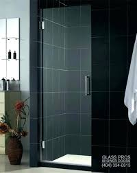 steel framed shower doors glass pros of and semi black toronto f