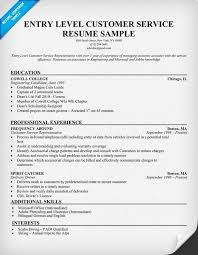 Entry Level Customer Service Resume Amazing Entry Level Customer Service Resume Resumes Pinterest Customer