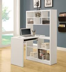 home office computer desk hutch. Corner Desk Small Contemporary Varnished Mahogany Wood Cpu Shelf And Low Hutch Light Gray Wall Color Cherry Home Office Computer In White