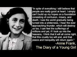 Anne Frank Quote Make Your Own Passover Haggadah Haggadot Cool Anne Frank Quotes