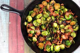 roasted brussel sprouts with bacon i