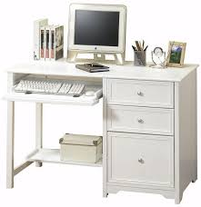 small white desks amazing of desk with file drawers student for decor 5