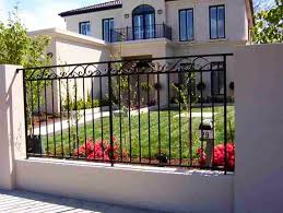Wrought Iron Fence Panels Privacy Peiranos Fences Modern Wrought