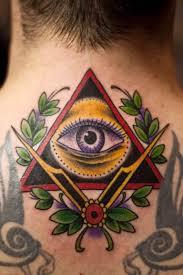 40 Triangle Tattoos Triangle Tattoos Illuminati Tattoo