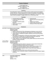 Modern Look Resume Best Master Teacher Resume Example Livecareer