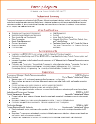 Sourcing Manager Resume 24 Procurement Manager Resume Precis Format 15