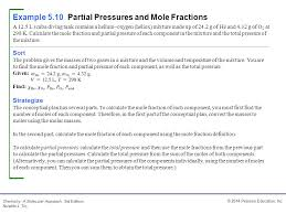 total pressure equation chemistry. example 5.10 partial pressures and mole fractions total pressure equation chemistry r