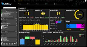 manage my business human resources dashboard example of a key data visualization for human resources