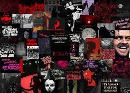 Halloween Aesthetic Collage Laptop ...