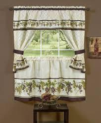 Curtain Patterns For Kitchen Kitchen Curtain Ideas For Bay Window Kitchen Window Treatments