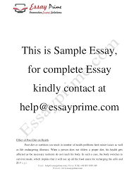 diet essay healthy diet essay