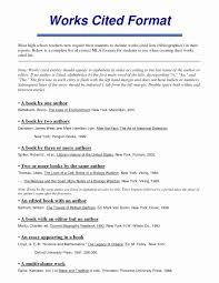 Mla Essay Works Cited Example Essay Writing Top