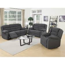 Elegant Leather Reclining Sofa Set 76 For Sofas and Couches Ideas