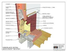 masonry fireplace construction details masonry fireplace plan of masonry fireplace outdoor masonry fireplace construction details