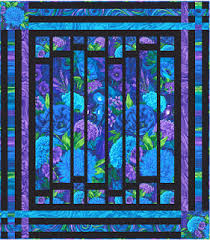 Stained Glass Quilt Pattern Delectable Quilt Inspiration Free Pattern Day Stained Glass Quilts