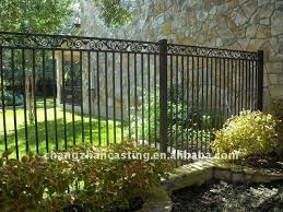 short wrought iron garden fence 67 best wrought iron fence images on
