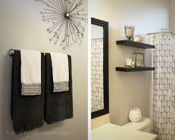 Decorating Guest Bathroom Bathroom Decor Ideas Decorating Ideas Towel Small Bathroom