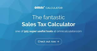 7 125 Sales Tax Chart Sales Tax Calculator Omni