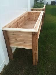 elevated planter raised bed garden