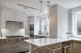 bright your kitchen with sparkling white quartz countertop11 sparkling