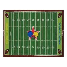 fun rugs home indoor outdoor football field rug multi free football field rugs nfl football