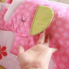 8 pcs girl baby bedding set embroidery 3d flamingos quilt bedskirt ideas for crib bedding