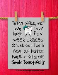 wall art office. orthodontist gift printable office wall art by weloveprintableart