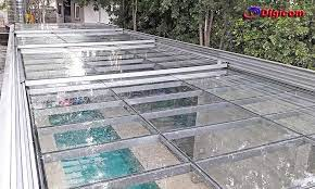 Como fazer o teste de silicones para telhados de vidro. Como Fazer Uma Cobertura De Vidro Ideal Digicom Coberturas