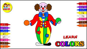 Use these images to quickly print coloring pages. Coloring Page For Kids Joker Coloring For Children Color Learning Video Youtube