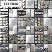 Small Picture Glass Sheet Hotel Decor Buy Home Tiles Mosaics Silver Metal