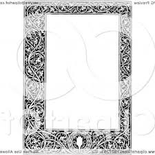 Vintage black frame png Rectangular Vintage Black And White Medieval Page Frame Sohad Acouri Png Borders And Frames Clip Art Frame Vector Sohadacouri