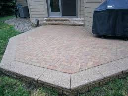 backyard cost creative ideas of patio astonishing c co garden pavers how much do outdoor cos
