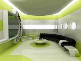 Small Picture green silver and white space ship interior living room OUTTA