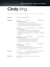 Free Template For A Resume Resume Sample Web
