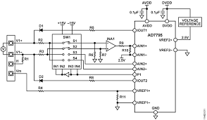 cn0325 circuit note analog devices ch2 simplified voltage input diagram
