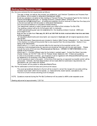 Project Meeting Minutes Template - Maryland Free Download