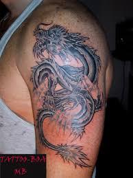 Tetování Drak Tetování Tattoo